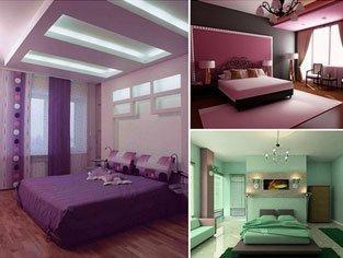Дизайн решения для спальни