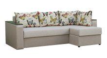 угловой диван Вегас 2 Дрим 4+History butterfly - Мебель со склада