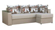 Угловой диван Вегас 2 Дрим 4 + Амстердам Сепия - Мебель со склада