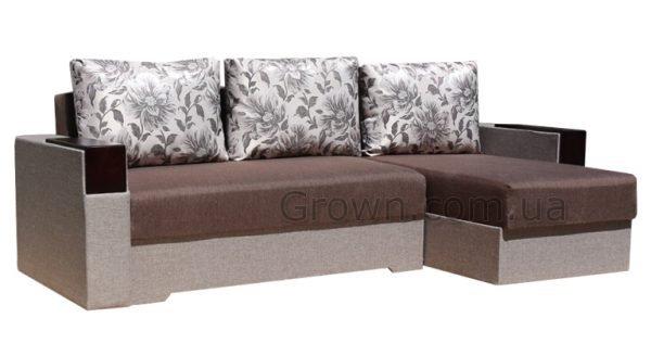 Угловой диван Магнолия BROWN - 1