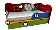 Детский диван Мультяшки - 10