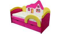 Детский диван Домик PINK - Детская мебель