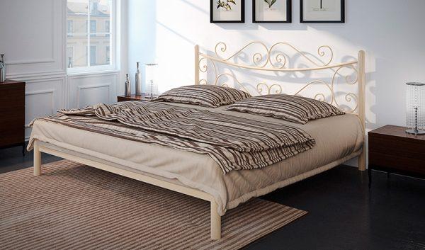 Кровать металлическая Азалия - 1