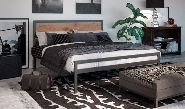 Кровать металлическая Герар - 1