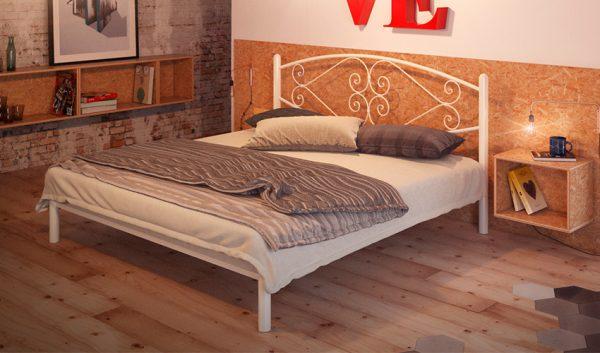 Кровать металлическая Камелия - 1
