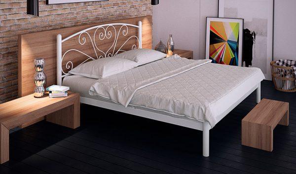 Кровать металлическая Карисса - 1