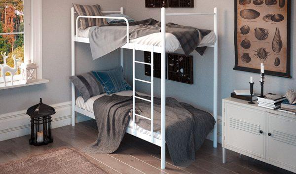 Кровать металлическая двухъярусная Ирис - 1
