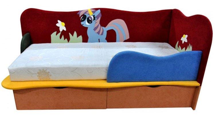 Детский диван Пони 2 - 1