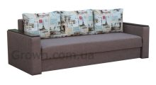 Диван Липки-2 (деревянные накладки) - Мебель со склада