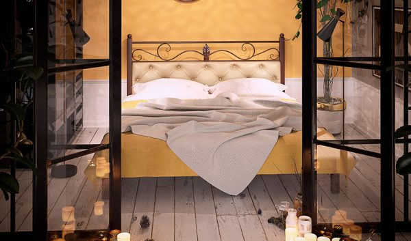 Кровать металлическая Диасция - 1
