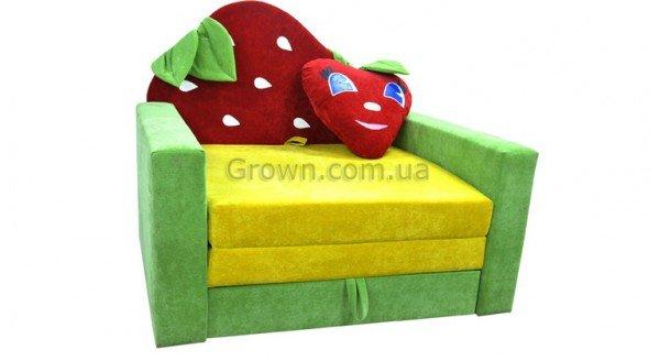 Детский диван Клубничка Фантазия - 1