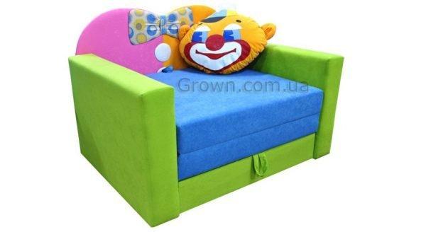Детский диван Клоун «Фантазия» - 1