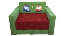 Детский диван Машинки «Кубик»
