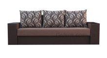 Диван Мастер MAXI BROWN (большое спальное место) - Мебель со склада