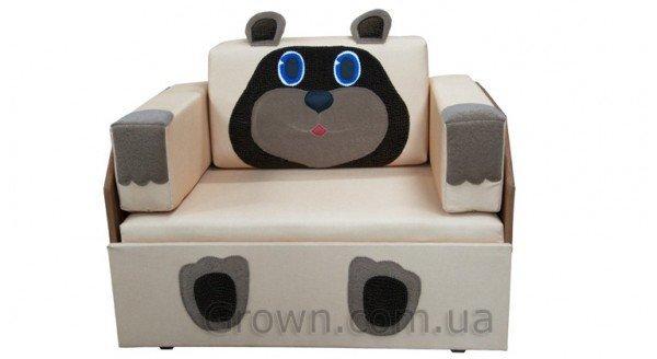 Детский диван Мишка «Кубик-Боковой» - 1