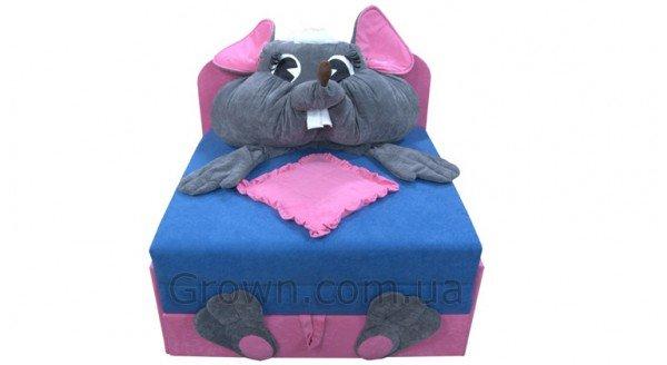 Детский диван Мышка «Омега-аппликация» - 1
