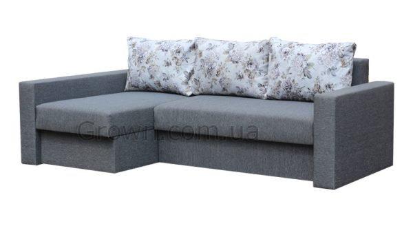 Угловой диван Монако GREY - 1