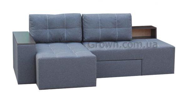 Угловой диван Домино Л1 GREY - 1