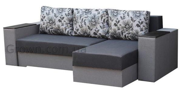 угловой диван Визит GREY - 1
