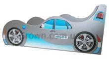Кровать-машинка Полиция серия Форсаж
