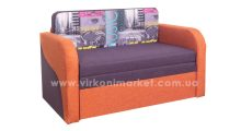 Диван Лесык Саванна Виолет + Оранж + Мюзик Виолет - Мебель со склада