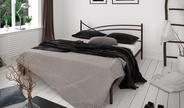 Кровать металлическая Гвоздика - 1