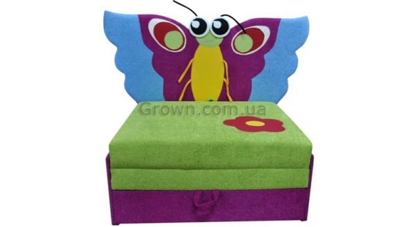 Детский диван Бабочка «Омега-аппликация» - 1