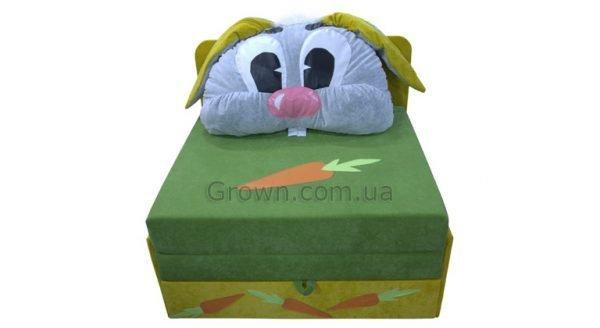 Детский диван Зайчик «Омега-аппликация» - 1