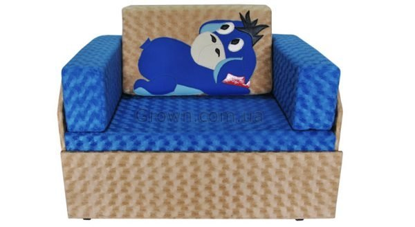 Детский диван Ослик «Кубик-Боковой» - 1