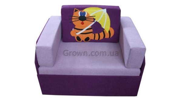 Детский диван Котик «Кубик-Боковой» - 1