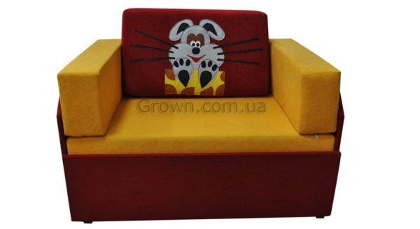 Детский диван Мышка «Кубик-Боковой» - 1