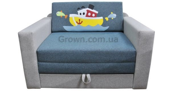 Детский диван Кораблик «Кубик» - 1
