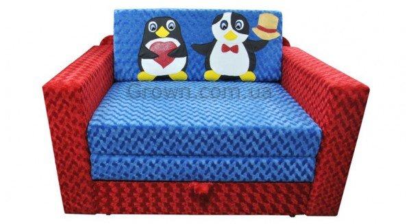 Детский диван Пингвинчики «Кубик» - 1