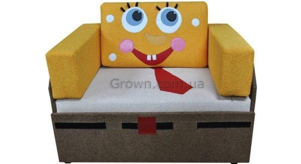Детский диван Спанч Боб «Кубик-Боковой» - 1