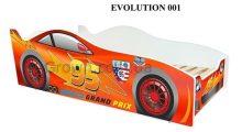 Кровать-машинка серия «Evolution»