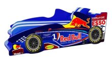 Кровать-машинка Формула F2 (синяя)