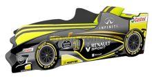 Кровать-машинка Формула F3 (жёлтая)
