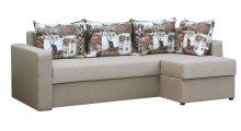 Угловой диван Вегас Дрим 4 + Амстердам Сепия - Мебель со склада
