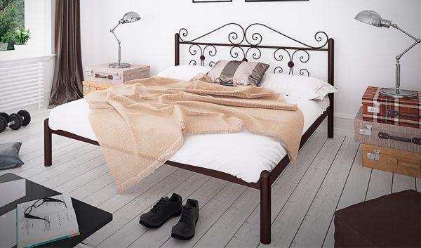 Кровать металлическая Бегония - 1