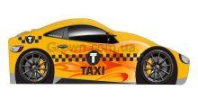 Кровать-машинка Такси серия Бренд
