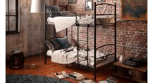 Кровать металлическая двухъярусная Виола - Детская мебель