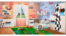 Детская спальня серия Драйв - Детская мебель