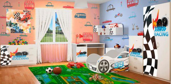 Детская спальня серия Драйв - 1