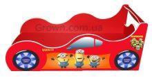 Детская кровать — машинка Миньоны Форсаж - Кровати-машинки