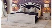 Кровать Маргарита белая - 2