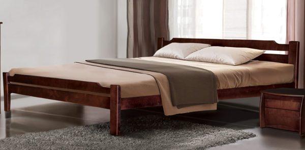 Кровать Ольга щит бука - 1