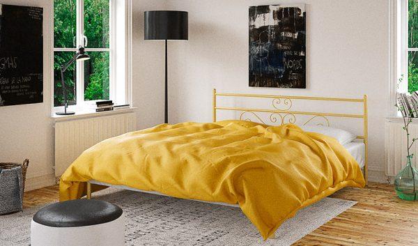 Кровать металлическая Лаванда - 1