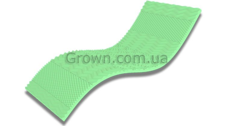 Мини-матрас Take&Go Bamboo Top Green - 1