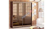 Шкаф-купе 0,90м Зеркало Бронза - Мебель для дома