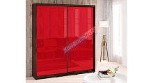 Шкаф-купе 0,90м Цветное Стекло - Мебель для дома